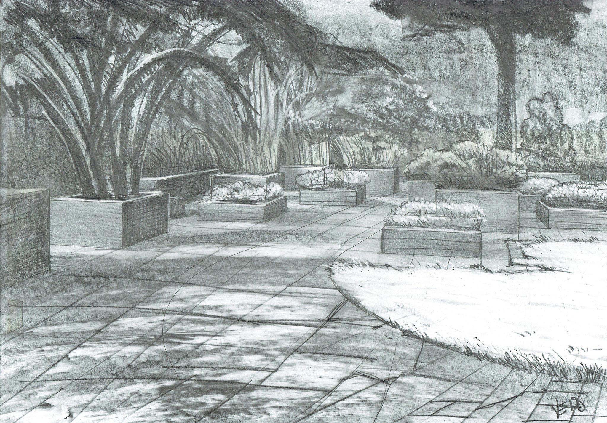 De Ontwerpwerkplaats, Gijs Niemeijer, Floor van Ditzhuyzen, Spannende Stadstuin , ontwerp tuin, ontwerp stadstuin, tuinontwerp, victor et flor, ontwerp stadstuin, design urban garden, garden design, tuinontwerp, ontwerp tuin, architectural visuals, victor et flor, victor elberse, visuals by victor, floor van ditzhuyzen