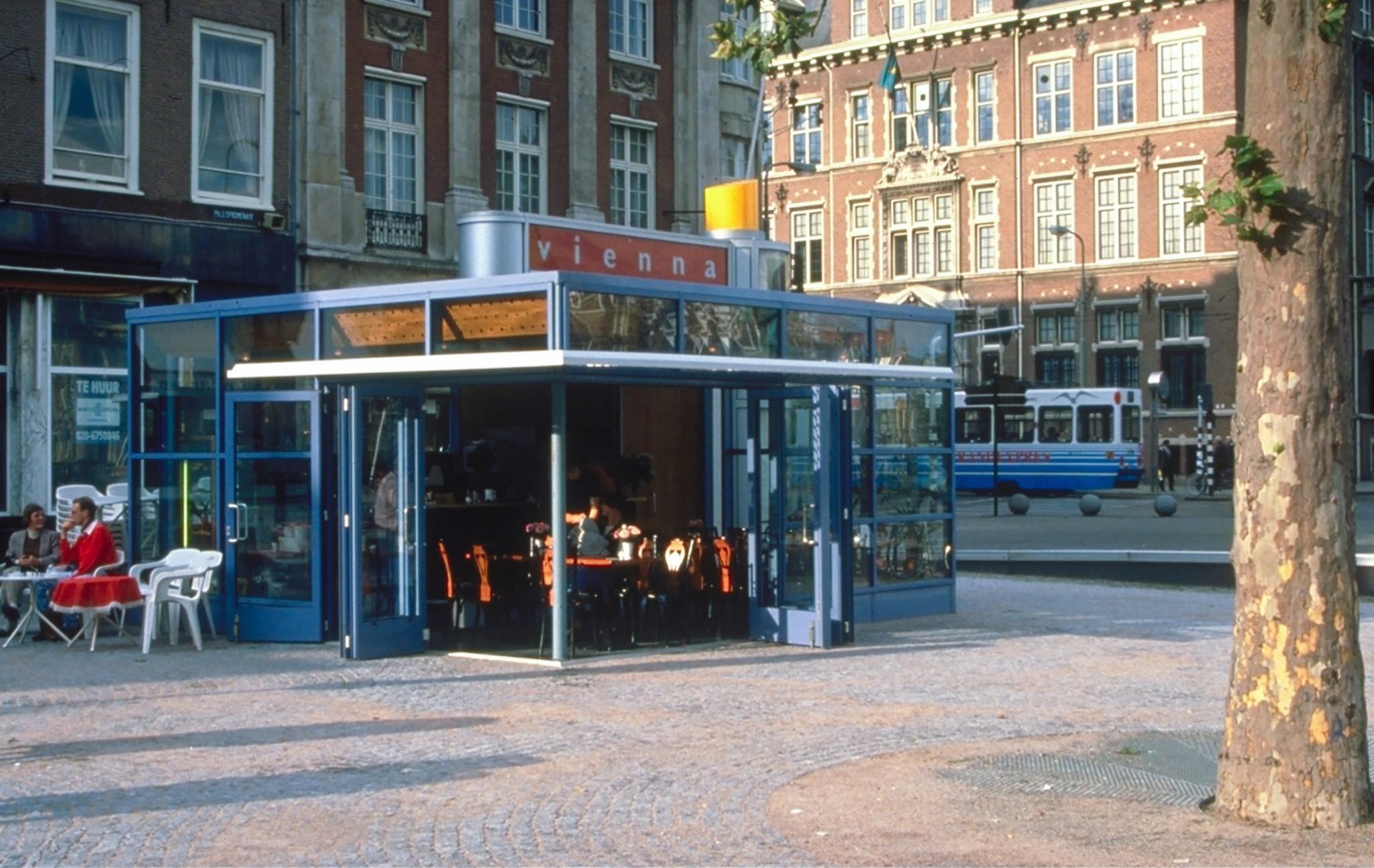 De Ontwerpwerkplaats, Gijs Niemeijer, Floor van Ditzhuyzen, Kiosken Haagse Stijl, ontwerp straatmeubilair, straatmeubilair haagse stijl, Gijs Niemeijer, ontwerp kiosk ,